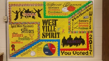 Homecoming Bulletin Board - West Side Story