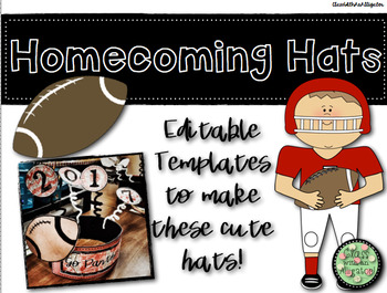 Homecoming Hat Craft