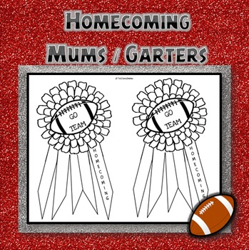 Homecoming Mums and Garters