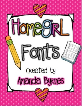 Homegirl Font Collection (54 Personal and Commercial Use Fonts)