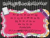Homegirl Leveled Reader (Personal and Commercial Use Font)