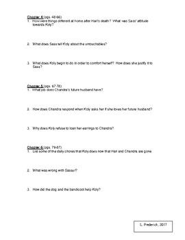 Homeless Bird Chapter Questions