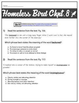 Homeless Bird Unitmrs. Parker