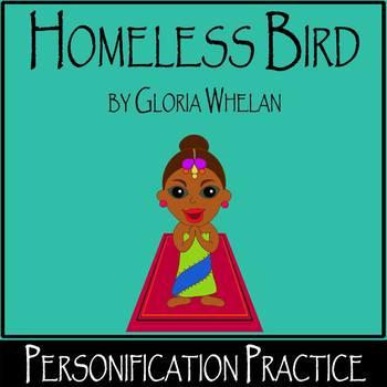 Homeless Bird by Gloria Whelan - Personification (differen