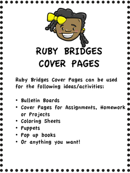 RUBY BRIDGES - COVER PAGES FREEBIE