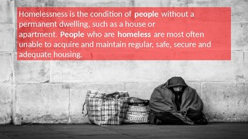 Homelessness 'The Big Issue' Assembly