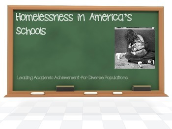 Homelessness in America's Schools