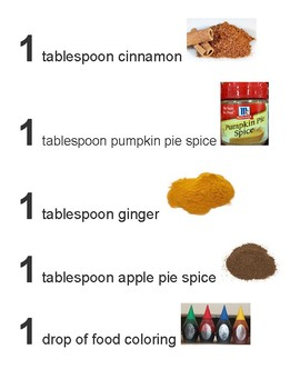 Homemade Spice Paints Adapted Recipe
