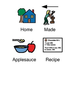 Homemade applesauce - picture supported text recipe visuals support