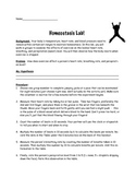 Homeostasis & Exercise Lab!