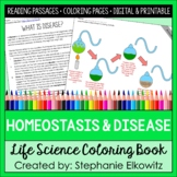 Homeostasis and Disease Coloring and Reading Unit