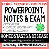 Homeostasis and Disease PowerPoint, Notes & Exam