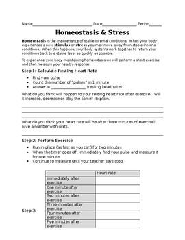 Homeostasis and Stress Lab