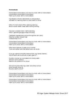 Homeostasis lyrics