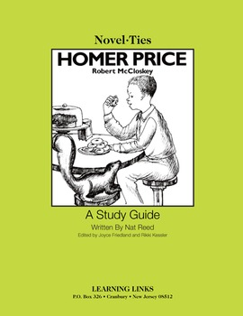 Homer Price - Novel-Ties Study Guide