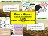 Homer's Odyssey- Book V: Calypso (key events)