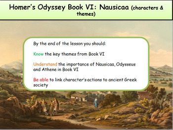 Homer's Odyssey- Book VI: Nausicaa (characters & themes)