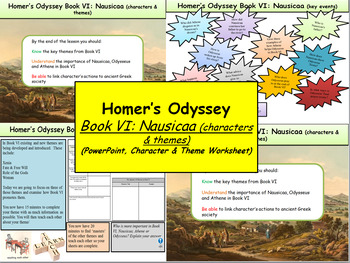 Homer's Odyssey- Book VI: Nausicaa (characters & themes)