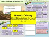Homer's Odyssey- Book VI: Nausicaa (key events)