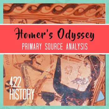 Homer's Odyssey The Cyclops Primary Source Analysis