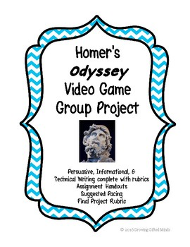 Homer's Odyssey Video Game Project