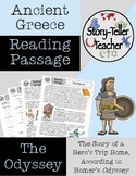 Homer's The Odyssey Reading Passage Ancient Greece