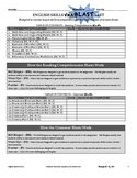 Homeroom Homework WarmUp Exit Slip Booklet