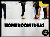 Homeroom Ideas