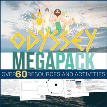 Homer's Odyssey - Epic Poetry Study - Activity Megapack! 3