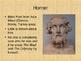 Homer's The Odyssey Background Info PowerPoint *Odyssey Un