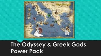 Homer's The Odyssey & Greek Gods Power Pack
