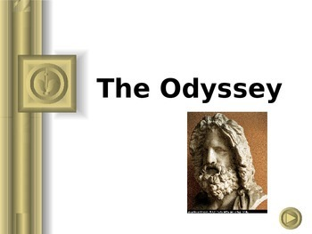 Homer's The Odyssey Introduction Powerpoint with Script