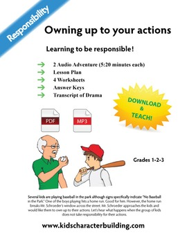 Homerun - A Lesson on Responsibility - Owning Up to Your Actions