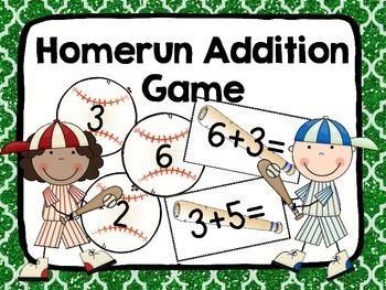 Homerun Addition Game