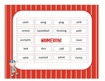 Homerun Review - Reviewing Closed Syllable Concepts