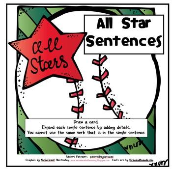 Homerun Sentences - Expanding Sentences