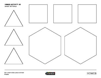 Homes Activity #3 (Shape Patterns)