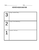 Homes Around The World- Activity Cards- Exit Slip