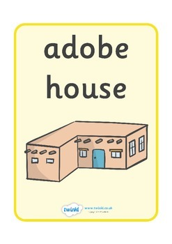 Homes Around the World Display Posters