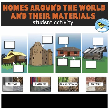 Homes Around the World and Their Materials: Student Activity
