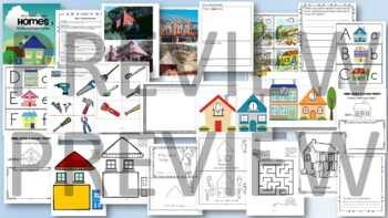 Homes Theme BUNDLE Preschool