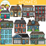 Homes Clip Art