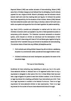 Homes Schooling Essay