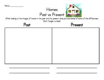 Homes and Schools Past vs Present