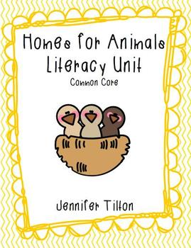 Homes for Animals - Common Core