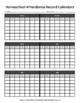 Homeschool Attendance Record Calendars