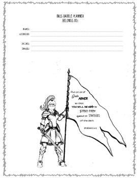 Homeschool Battle Planner