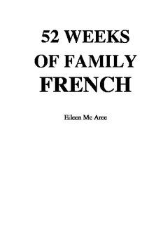 Homeschool Beginner's French Program