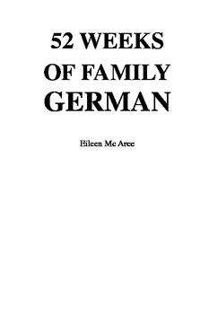 Homeschool Beginner's German Program