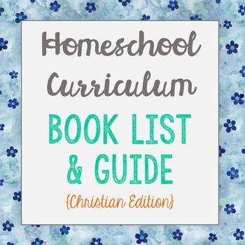 Homeschool Curriculum Guide: Preschool - Kindergarten (Christian Edition)